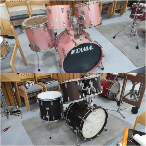 Schlagzeug-Restauration